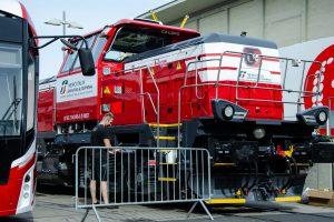 EffiShunter 1000 for Mercitalia at InnoTrans 2018, source: CEE Transport/Josef Petrák