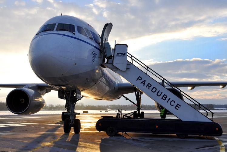 Tu-204, source: Pardubice Airport
