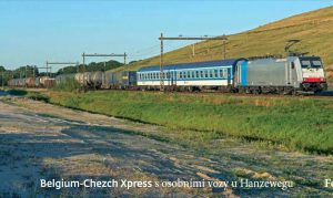 ČD Cargo Czech-Belgium Xpress with ČD Cars to Antwerp and Mauritania, source: Ruben Schots, scan of Cargovák magazine