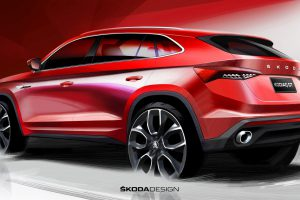Drawing of Škoda Kodiaq GT, source: Škoda Auto