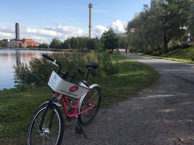 Rekola bike-sharing in Vaasa, Finland, source: Rekola/Vít Ježek